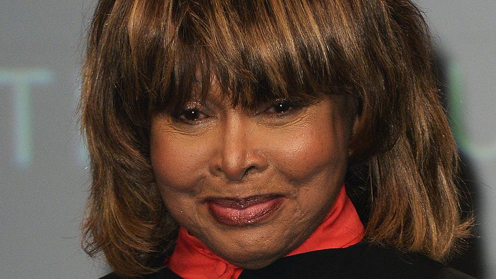Tina Turner sonriendo