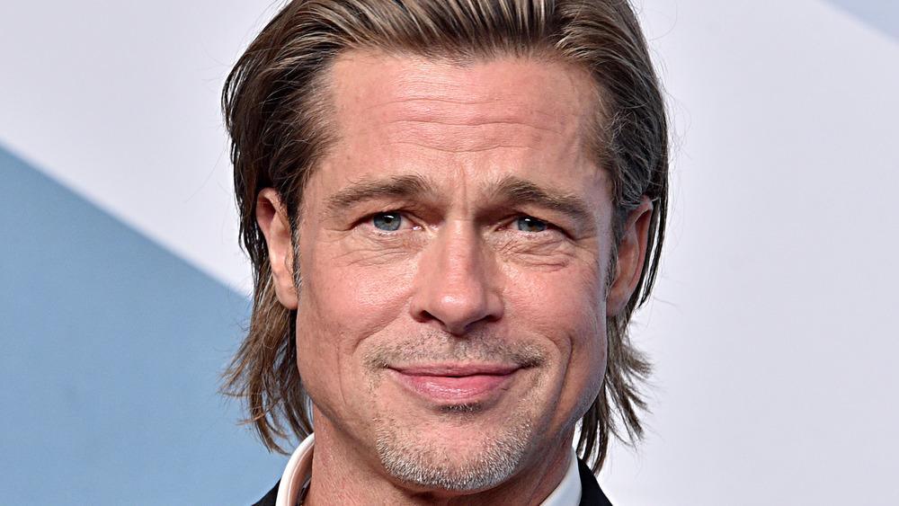Brad Pitt en el escenario
