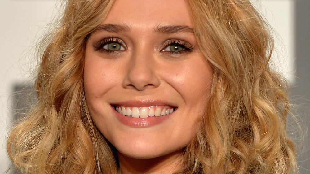 Elizabeth Olsen en bob corto