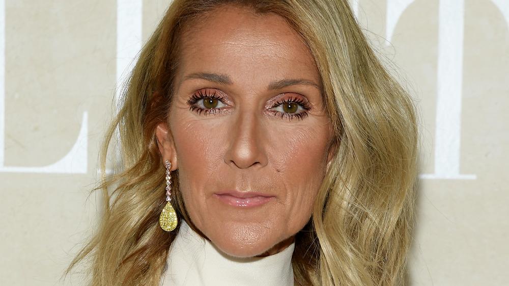 Celine Dion asistiendo a un evento de moda en París