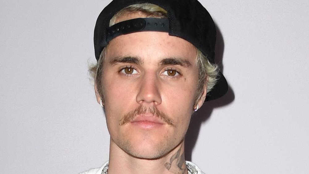 Justin Bieber en la alfombra roja