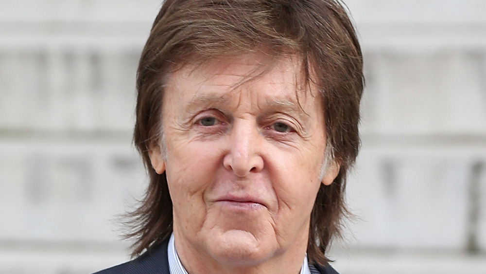 Paul McCartney al aire libre