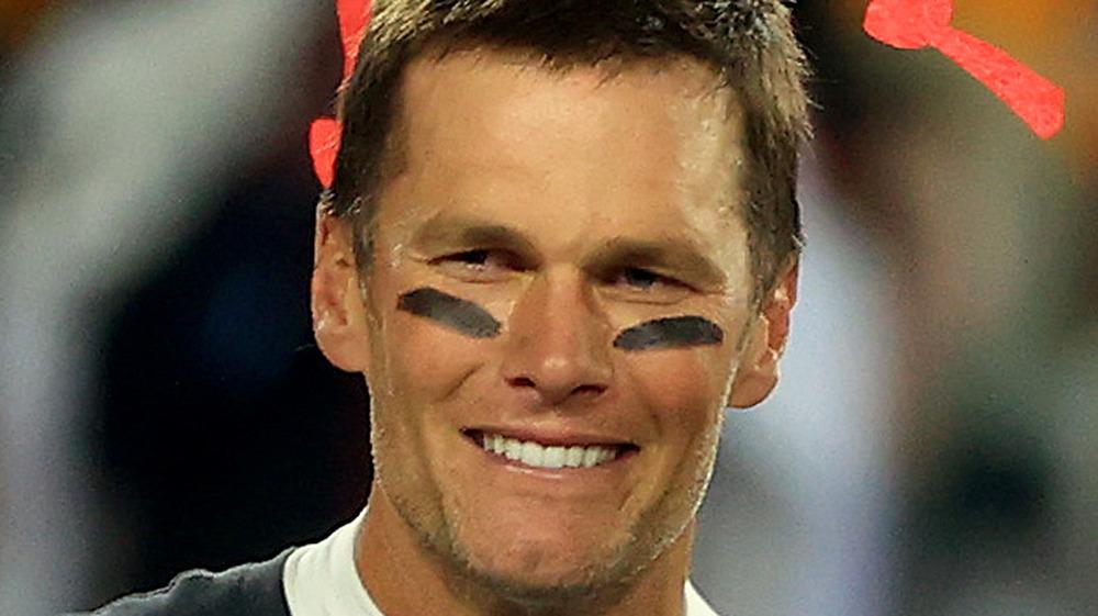 Tom Brady en el Super Bowl LV
