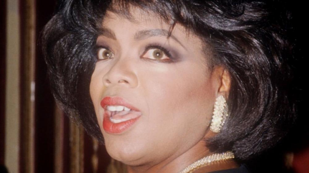Oprah Winfrey sorprendida