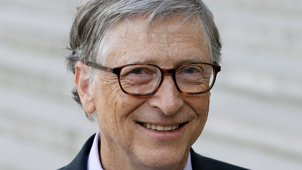 Bill Gates sonriendo