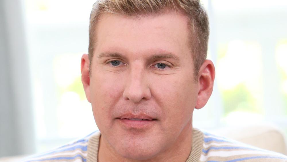 Todd Chrisley dando una entrevista