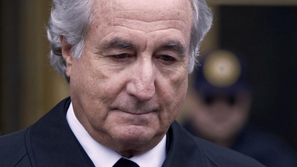 Bernie Madoff, pensando