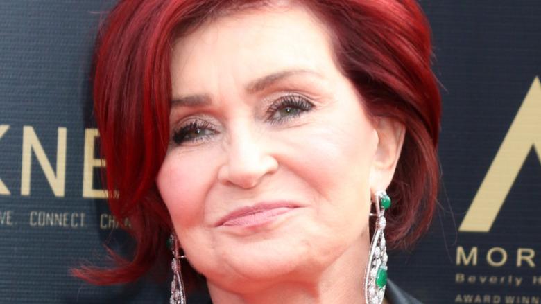 Sharon Osbourne en serio