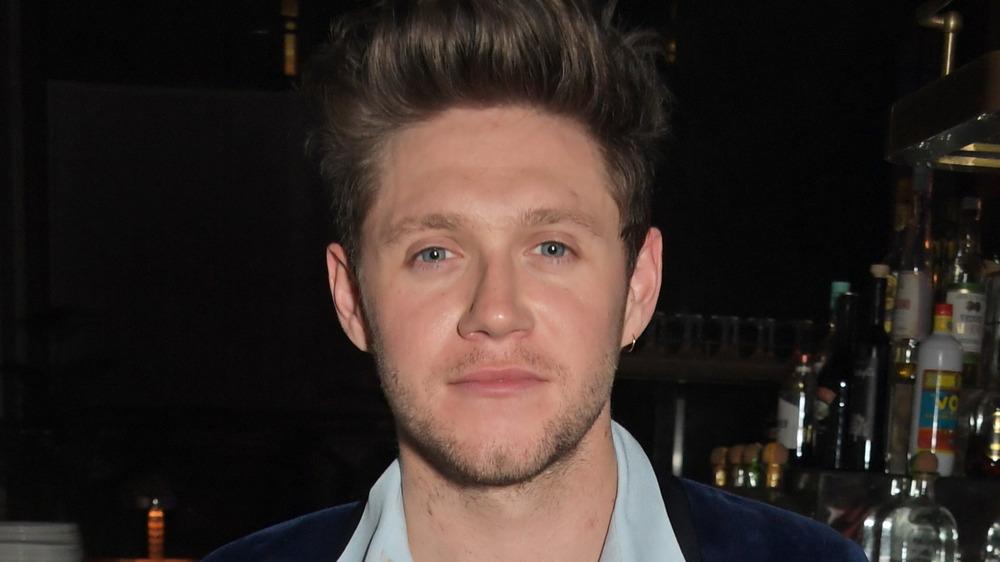 Niall Horan sonriendo