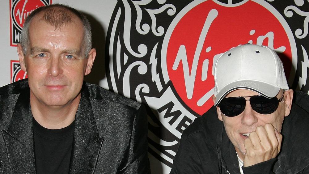 Pet Shop Boys sonriendo