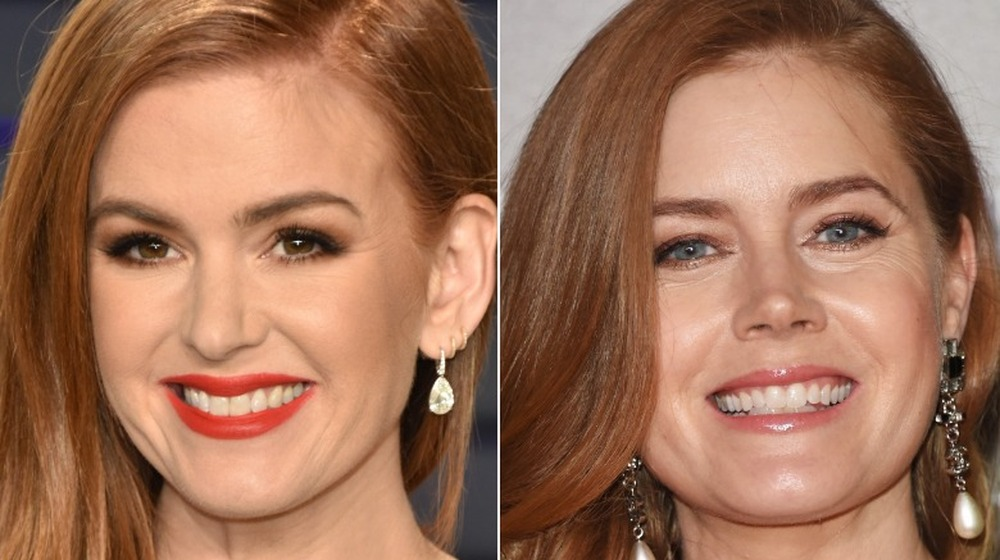 Isla Fisher y Amy Adams sonriendo