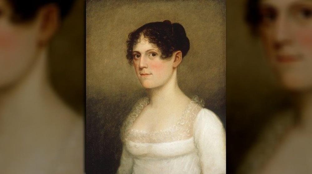 Un retrato que se cree que es de Theodosia Burr