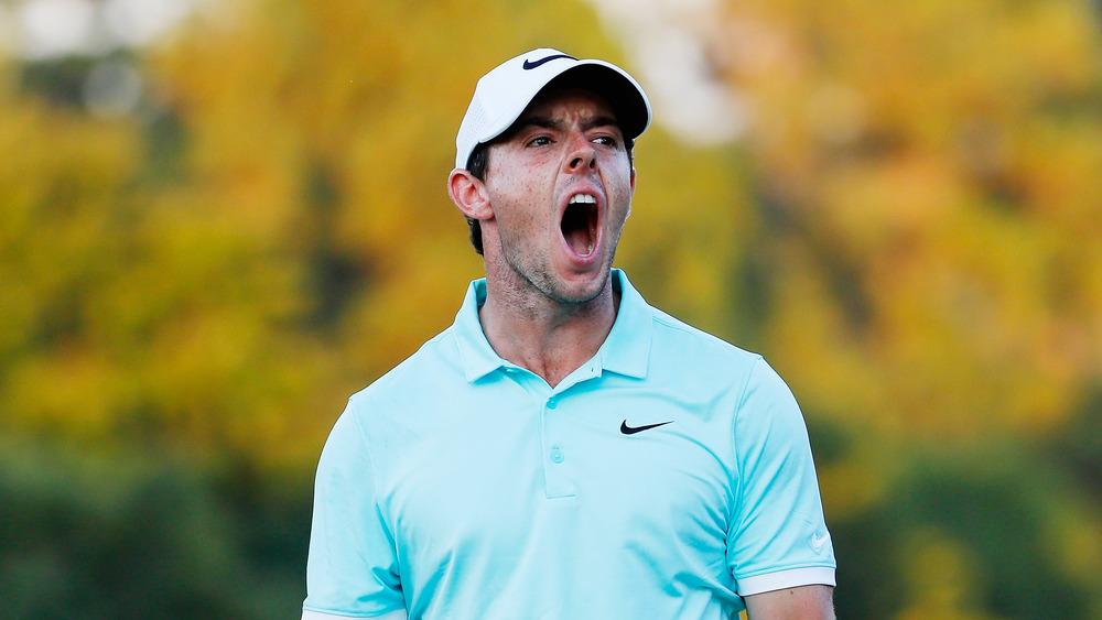 Rory McIlroy grito