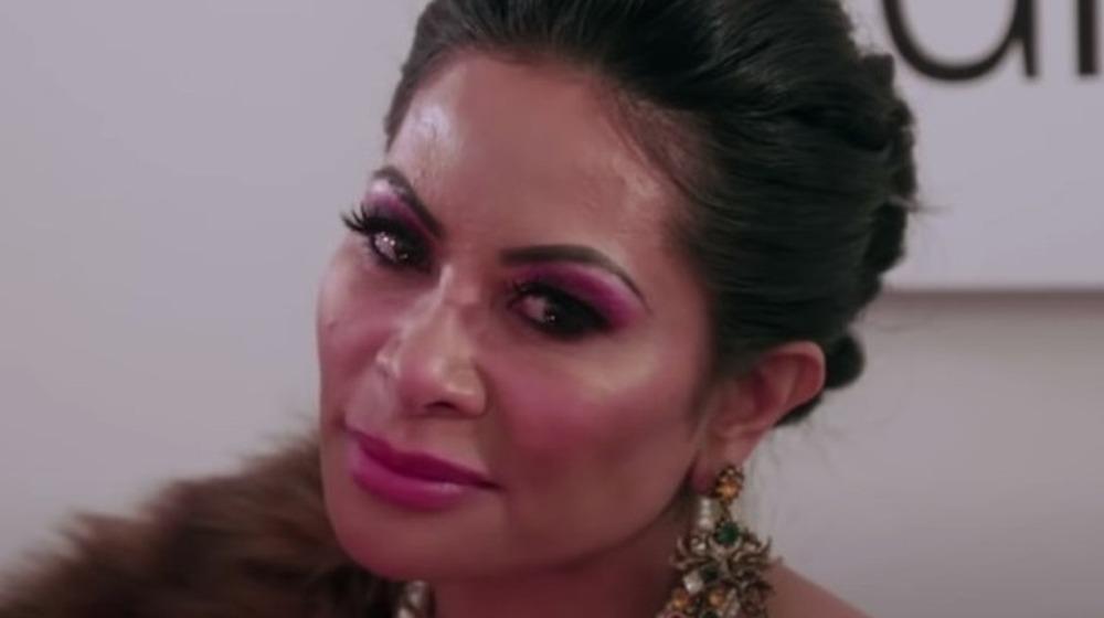 Maquillaje rosa de Jen Shah