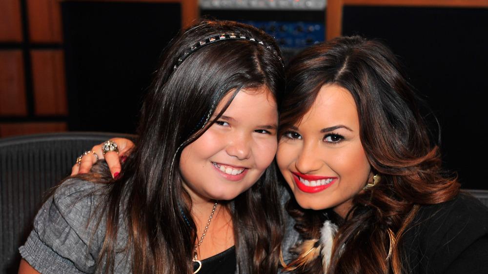 Demi Lovato y Madison De La Garza