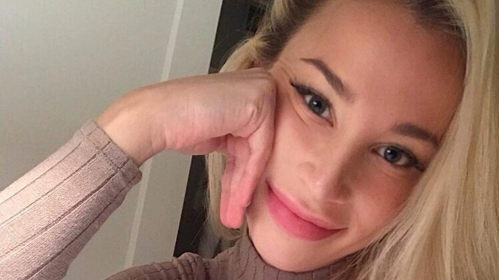 Sophia Phalen Bertolami haciéndose una selfie
