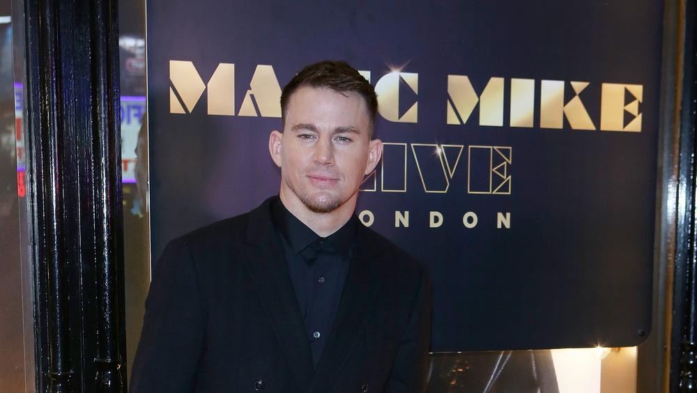 Channing Tatum 2018 posando en la alfombra roja