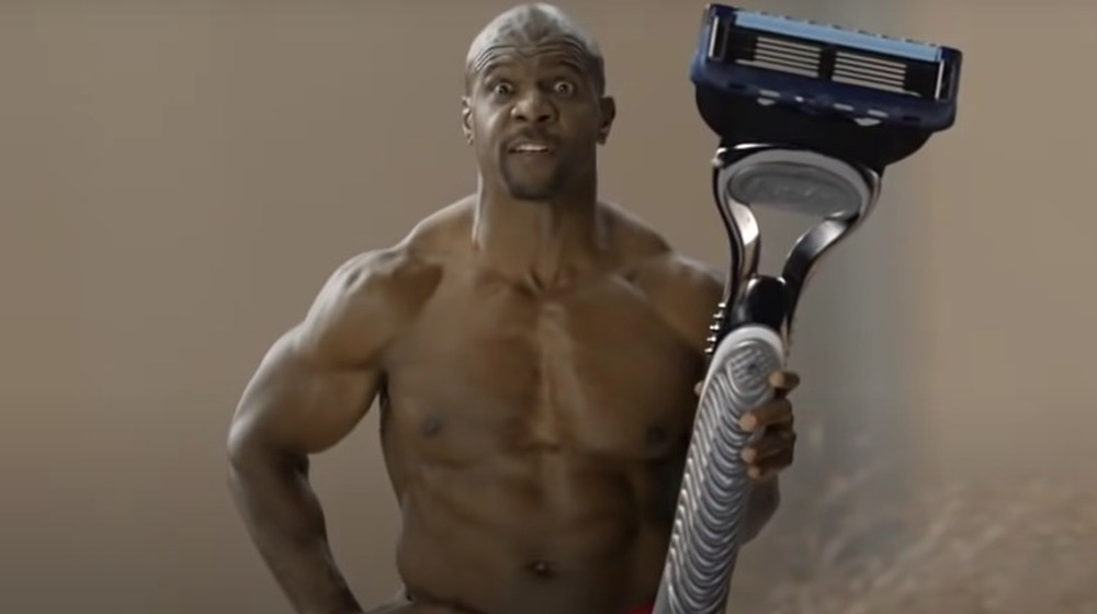 Terry Crews en un comercial de Old Spice