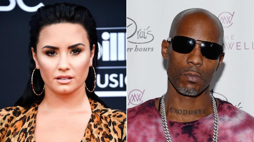 Demi Lovato y DMX lado a lado
