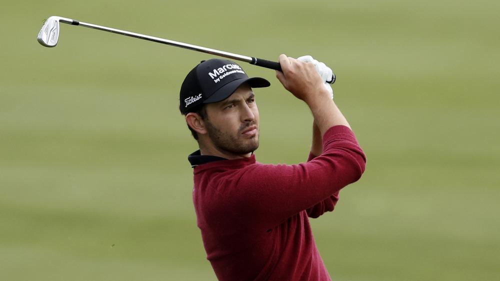 Patrick Cantlay en torneo de golf