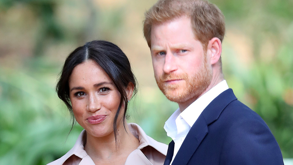 El príncipe Harry y Meghan Markle en un evento