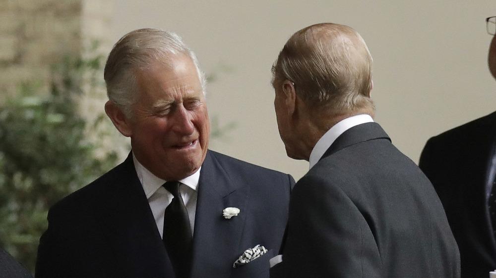 Príncipe Felipe y Príncipe Carlos