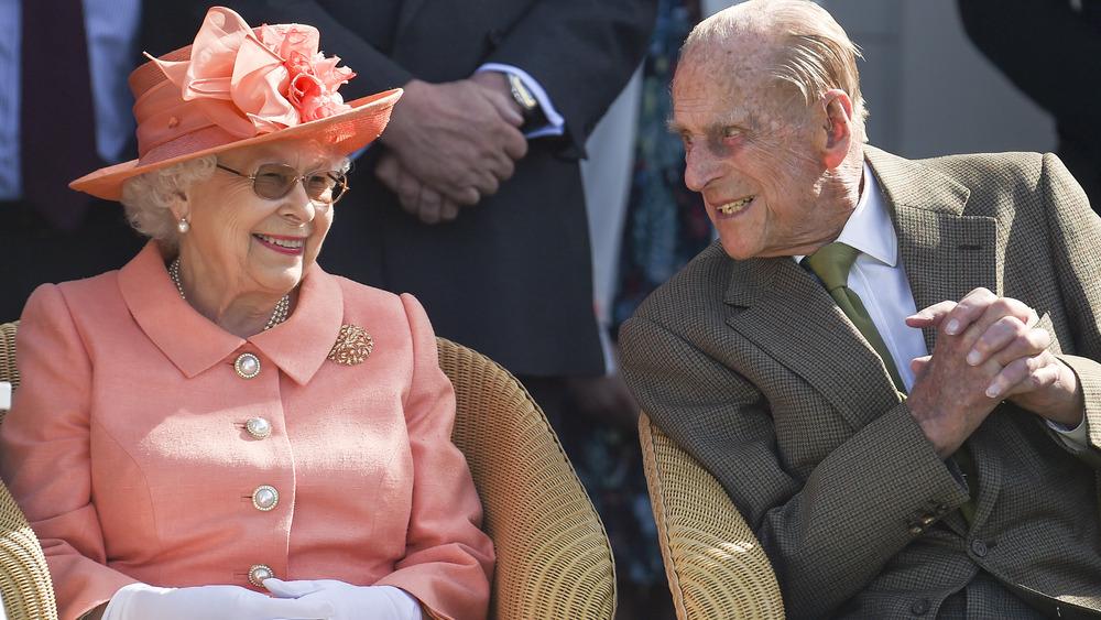 La reina Isabel y el príncipe Felipe juntos