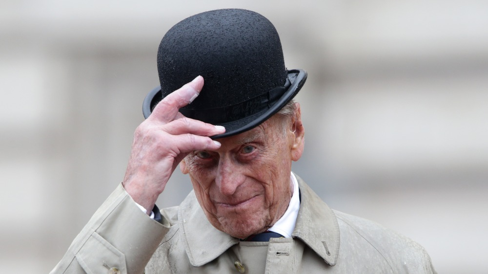 Gorra Prince Philip Buckingham Palace