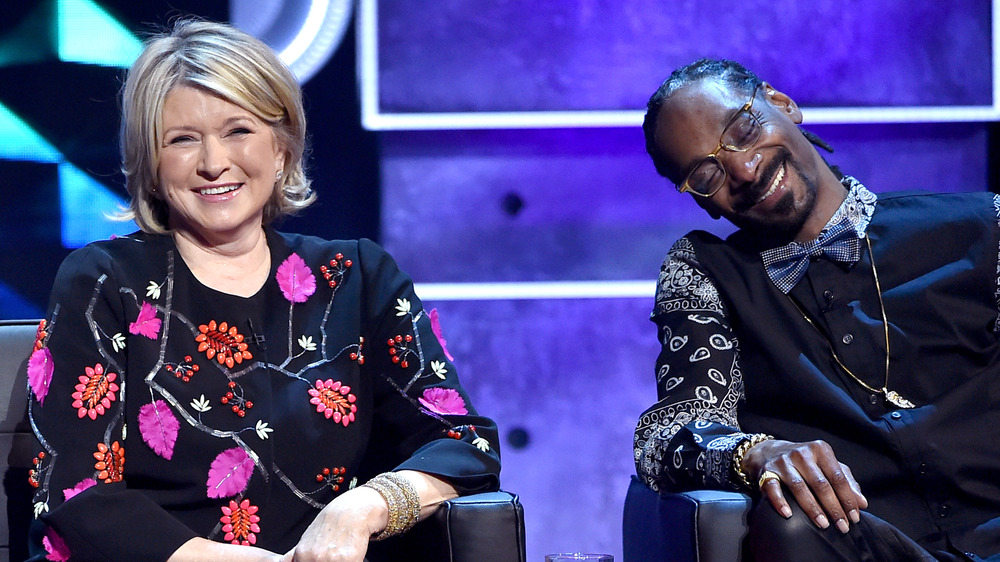 Martha Stewart y Snoop Dogg en The Comedy Central Roast de Justin Bieber