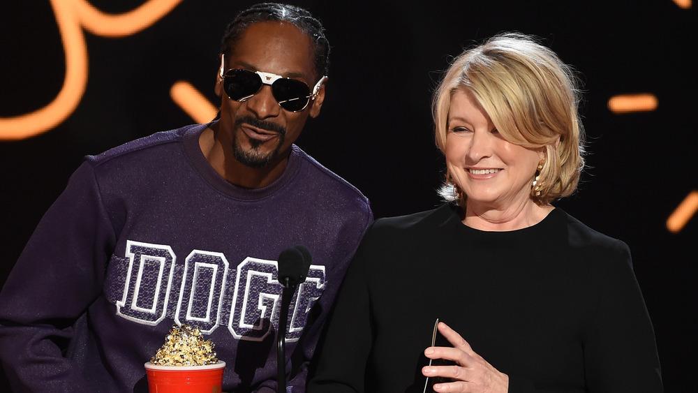 Snoop Dogg y Martha Stewart en la película MTV 2017