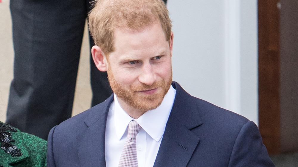 Corbata príncipe Harry
