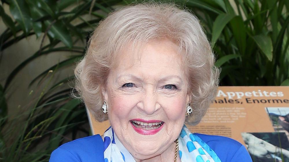 Betty White, zoológico