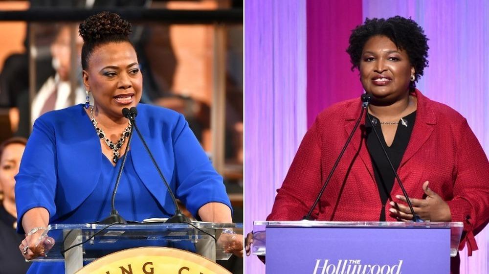 Bernice King y Stacey Abrams lado a lado