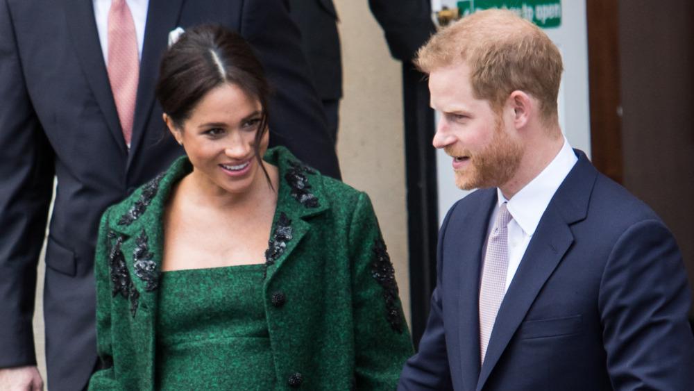 Meghan Markle embarazada y el príncipe Harry