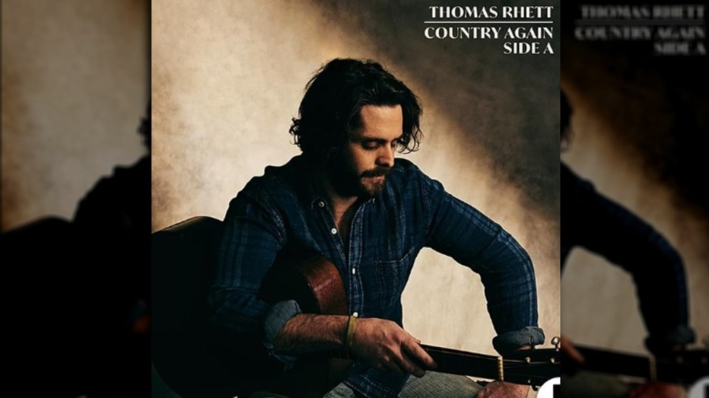 Thomas Rhett en la portada de su nuevo álbum Country Again