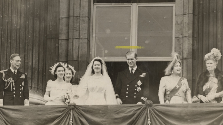 El día de la boda de la princesa Isabel y el príncipe Felipe