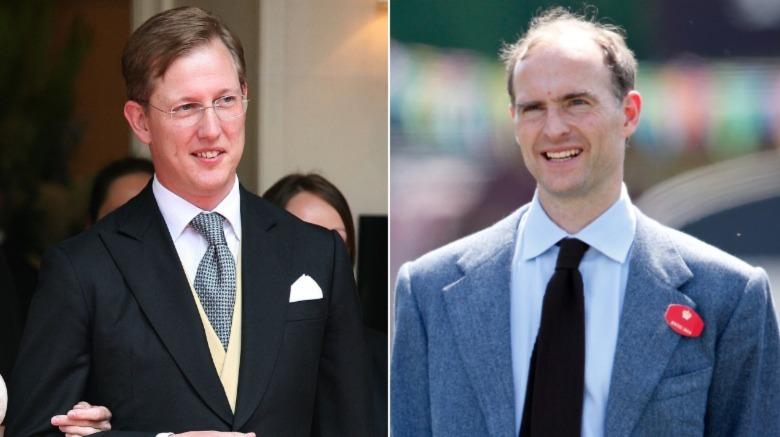 Bernhard, Príncipe hereditario de Baden (L) y Príncipe Donatus (R)