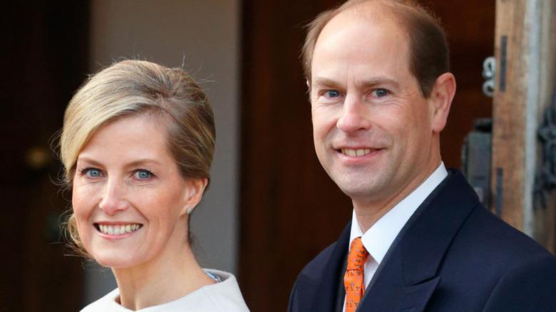 El príncipe Eduardo y la condesa Sophie