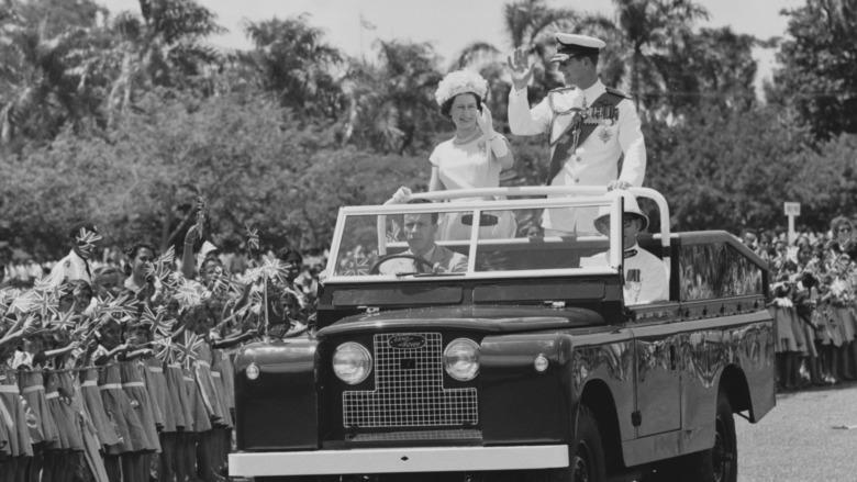 La reina Isabel y el príncipe Felipe