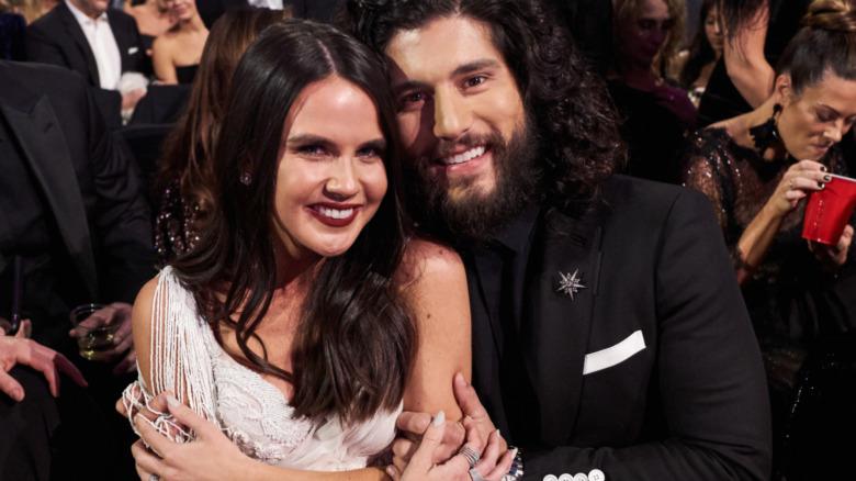 Abby Law y Dan Smyers en los premios CMA