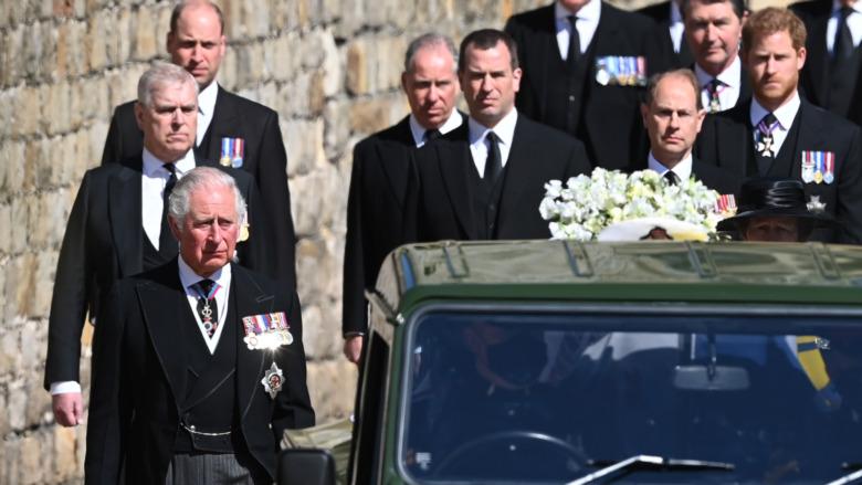 Procesión fúnebre del príncipe Felipe