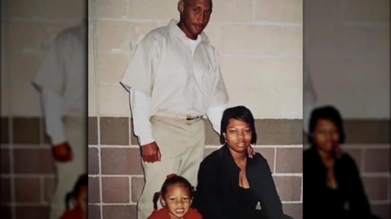 Megan Thee Stallion en la foto con su padre y su madre