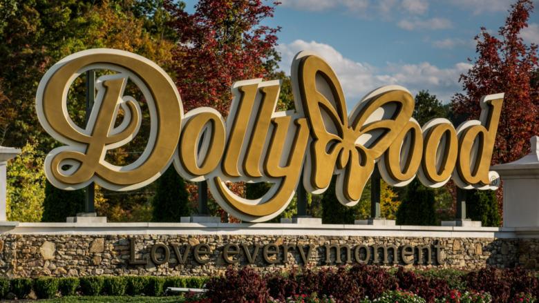 Entrada a Dollywood