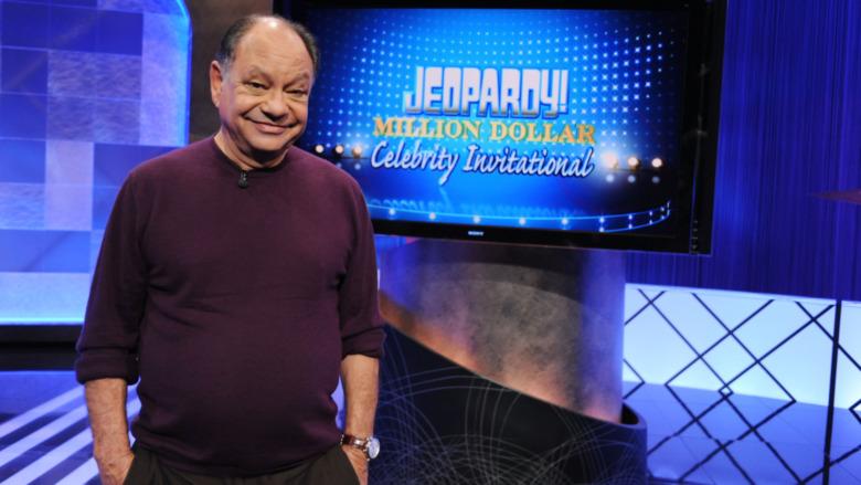 Cheech Marin sobre Jeopardy!  escenario de sonido