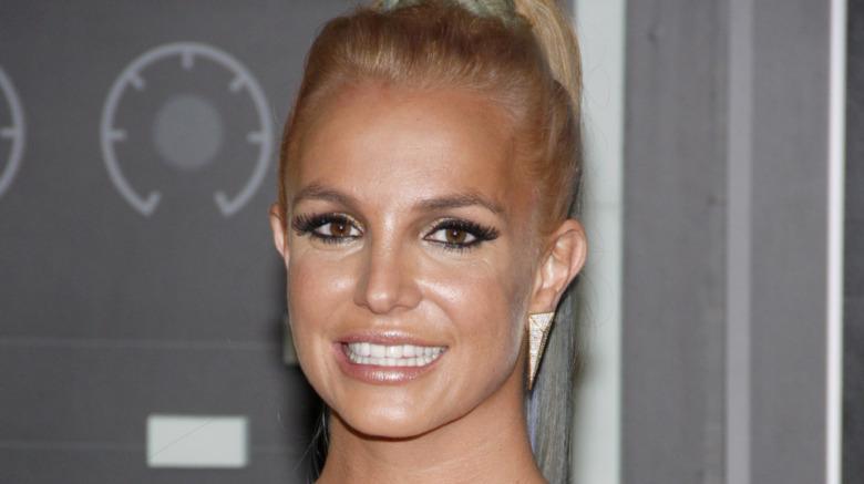 Britney Spears bronceada