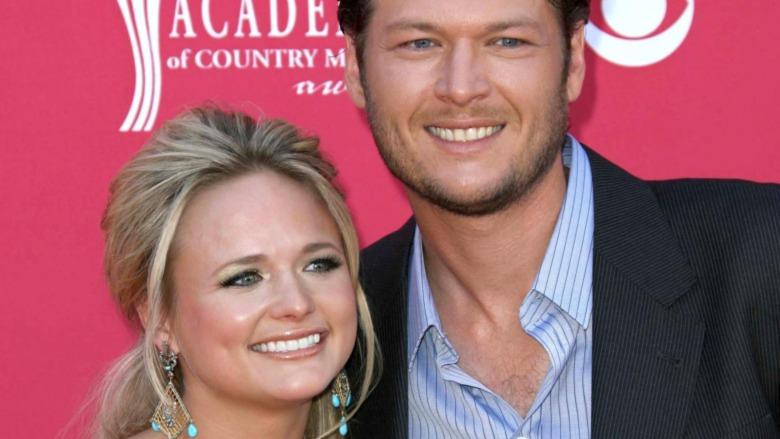Miranda Lambert y Blake Shelton en los premios ACM 2008.