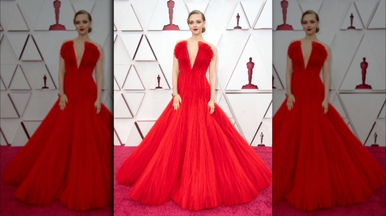 Alfombra roja de Amanda Seyfried