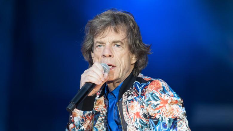 Actuación de Mick Jagger
