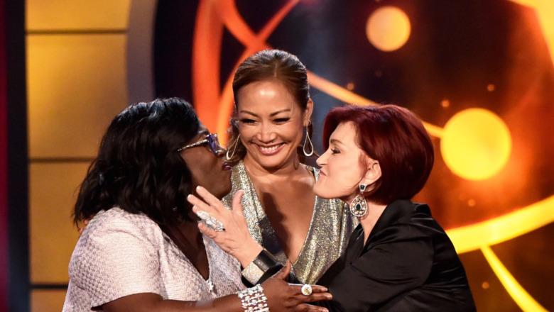 Sharon Osbourne Sheryl Underwood Carrie Ann Inaba entrega de premios