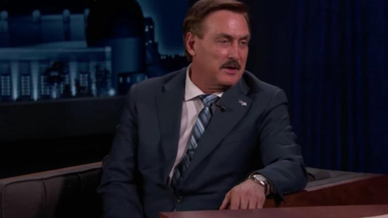 Mike Lindell sobre Jimmy Kimmel